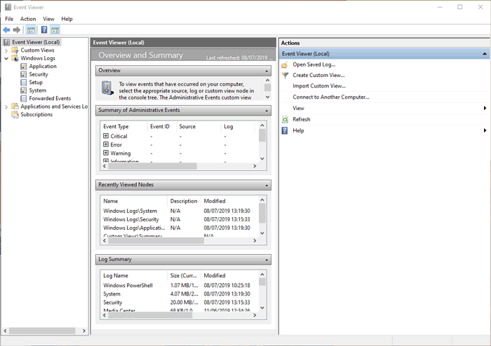 See Pc Startup Shutdown History Event Viewer 1